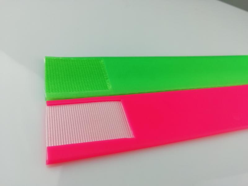 透明包胶织带